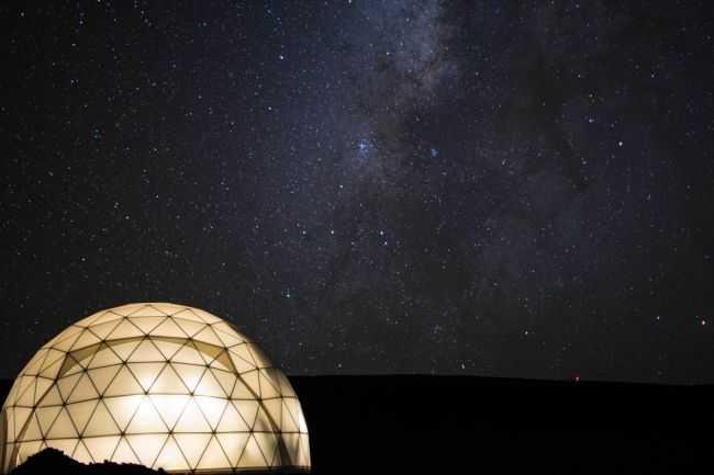 shelter dome, dome home, NASA dome, Mars Mission dome