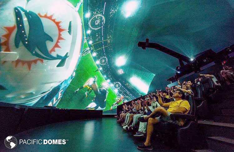 Super Bowl Projection Dome