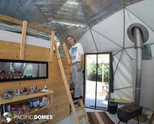 off-grid, dome home