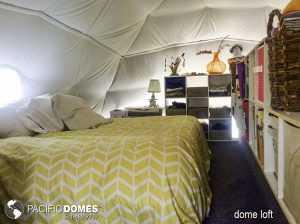 Dome Bedroom in Loft