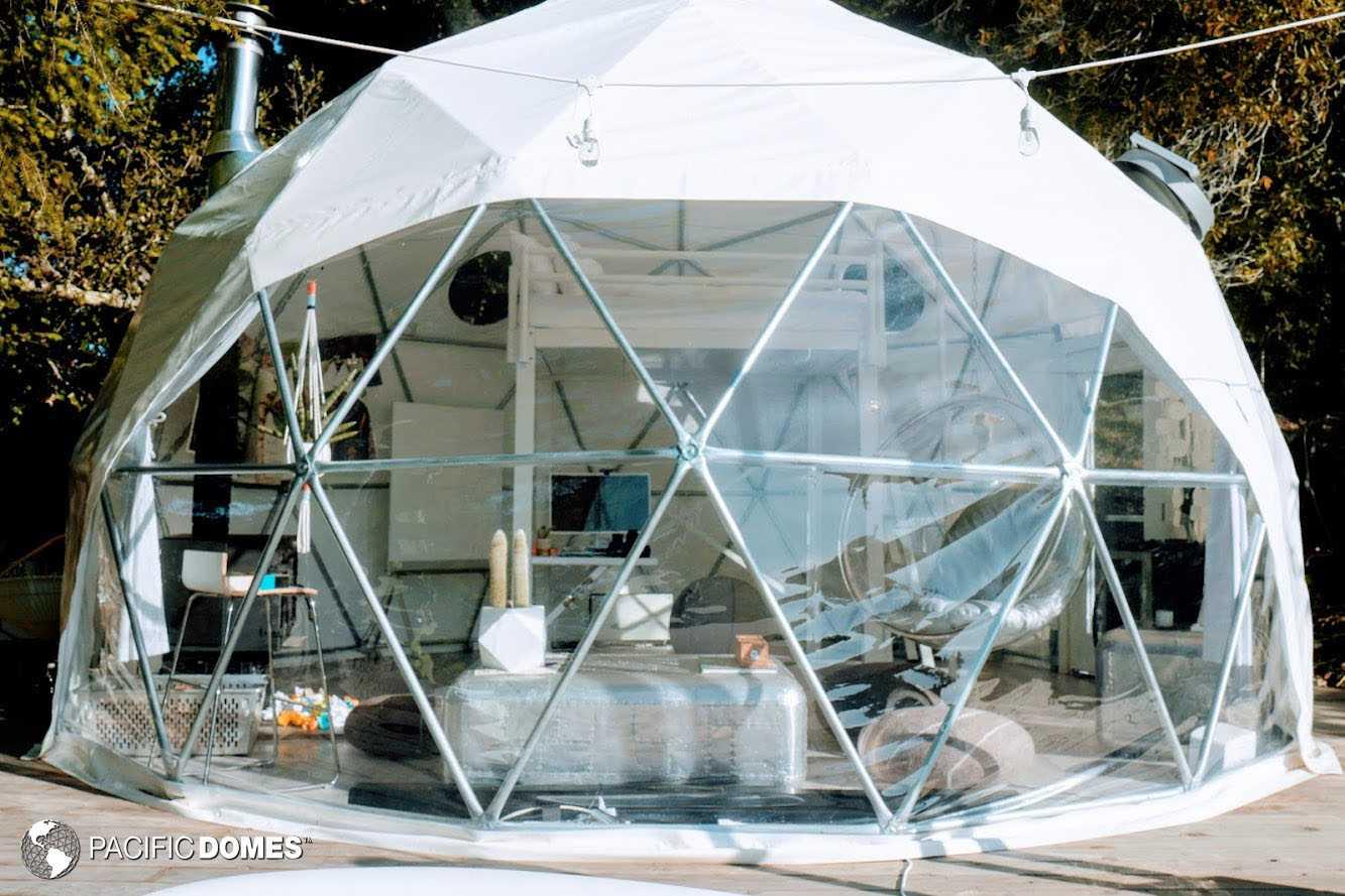 backyard dome, dome home, office dome, dome office, dome school