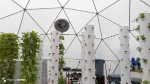 community greenhouse, grow dome, greenhouse