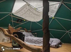 tiny house dome loft