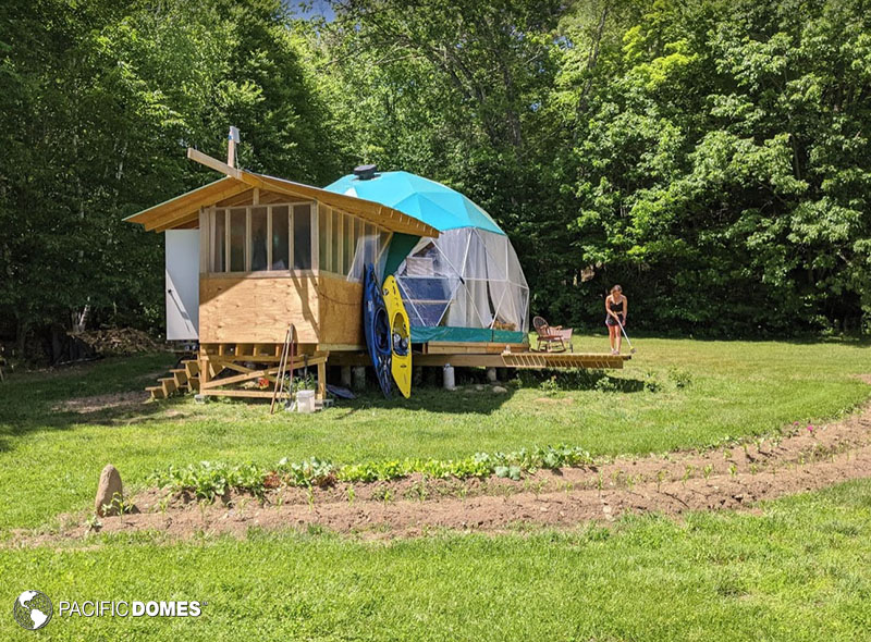 Dome Home, tiny house