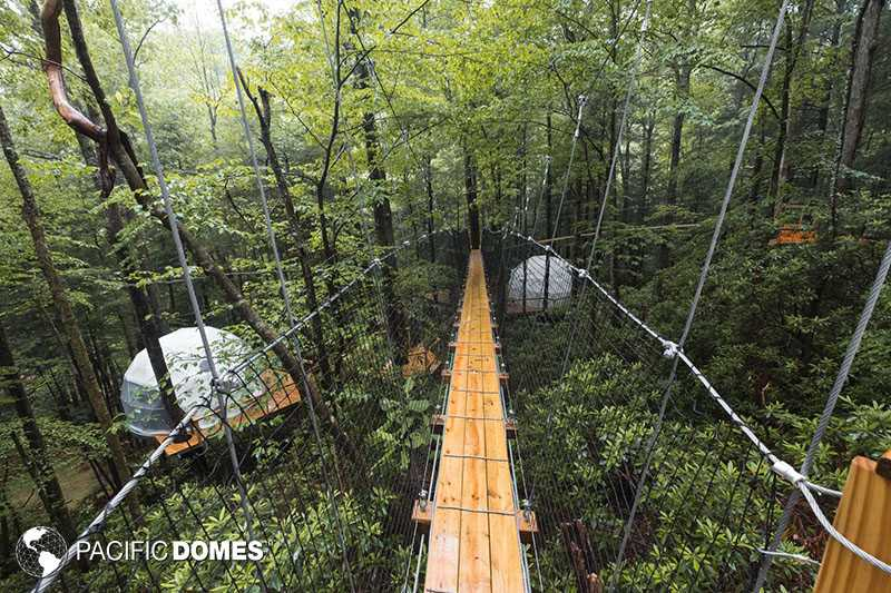 dome, dome town, dome glamping