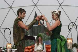 Elven Wedding in a Dome