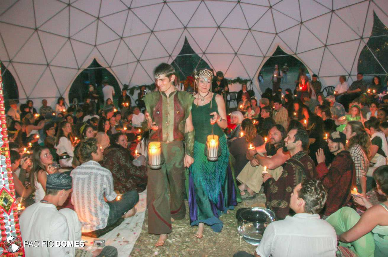 Fairy Wedding in a Dome