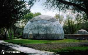Geodesic Dome Greenhouse