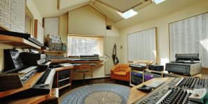 Recording studio at the Outlier Inn