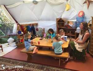 dome school, school dome, home school