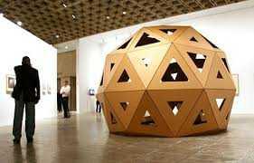 Bucky Fullers Cardboard Dome