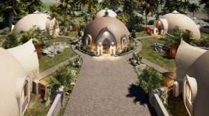 3D printed dome, concrete dome