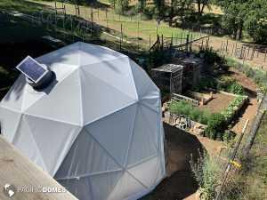 geodesic greenhouse, greenhouse dome, grow dome