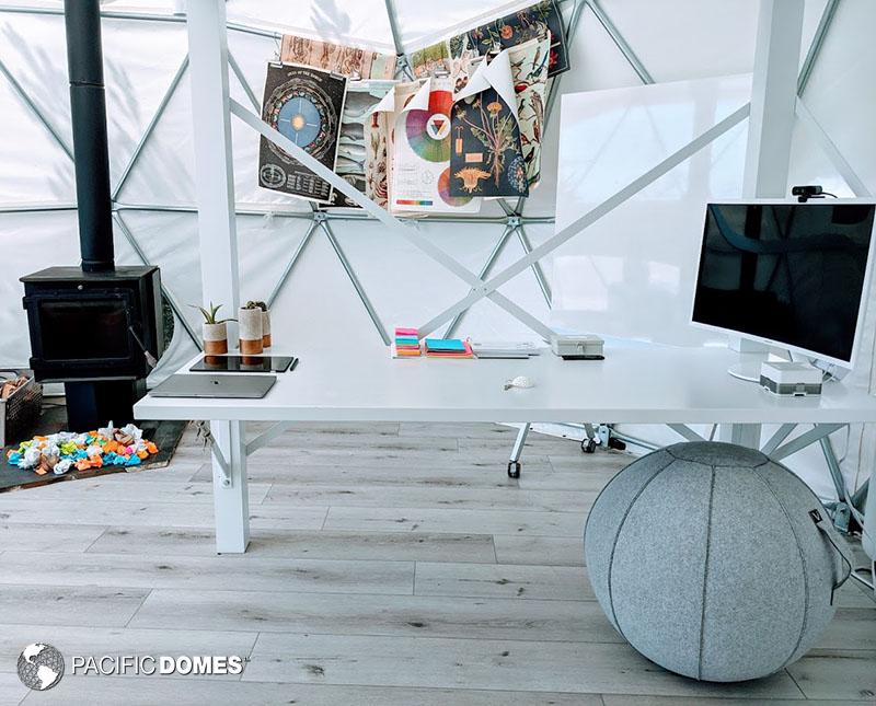 home office dome, office dome, dome office