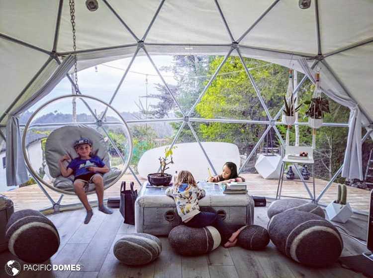 dome school, school dome, DIY dome, home school