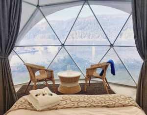 Backeddy Resort Dome