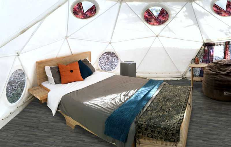 Pacific Domes - Festival Glamping Dome