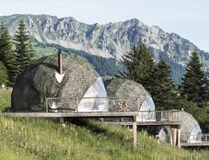 White Pod Domes - Switzerland
