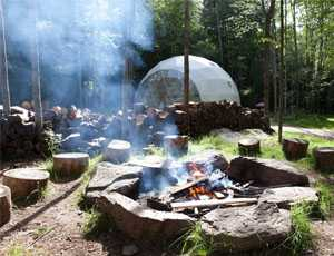 Airbnb Catskills Glamping Dome
