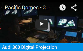 Audi 360 Projection Dome Video