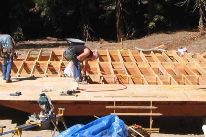 DIY Dome Deck Construction