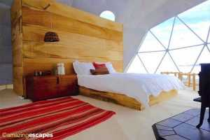 Insulated Vinyl Floors for Domes