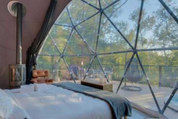 Geodesic Dome -Bay Window - Interior Design