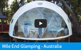 Mile End Glamping Domes - Australia