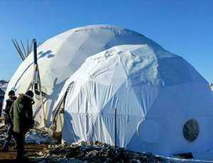 North Dakota Relief Dome