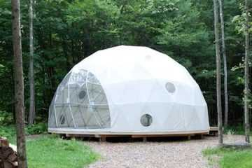 Pacific Domes Airbnb Dome
