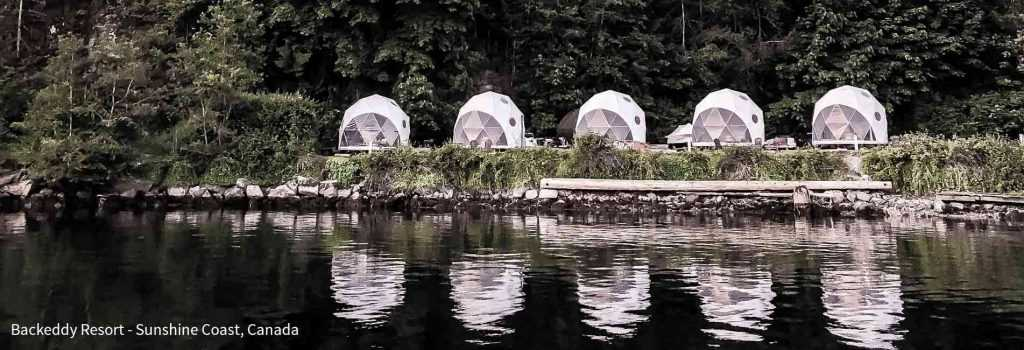 Pacific Domes - Backeddy Resort Domes