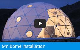 Pacific Domes EU - 9m Dome Installation