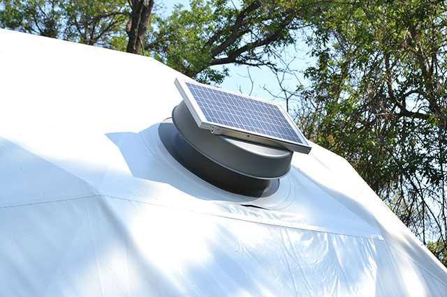Pacific Domes - Solar Fans
