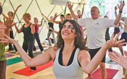 Pacific Domes Yoga Dome