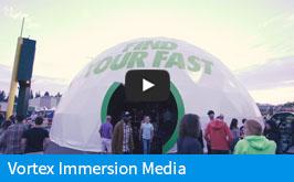 Vortex Immersion Media Dome