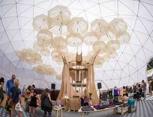 Wanderlust Festival Yoga Dome