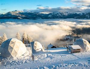 Whitepod Winter Resort Domes