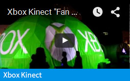 Xbox 360 Kinect Dome Video