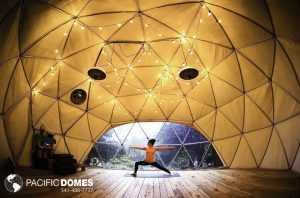 yoga geodesic building system