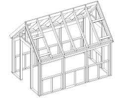Post-n-Rafter Greenhouse