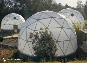UCSC Greenhouse Domes