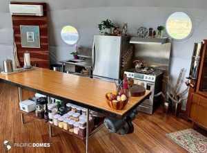 Dome Home Kitchen