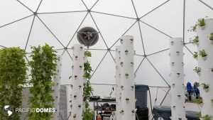 interior greenhouse dome