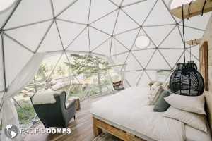 20ft dome home interior