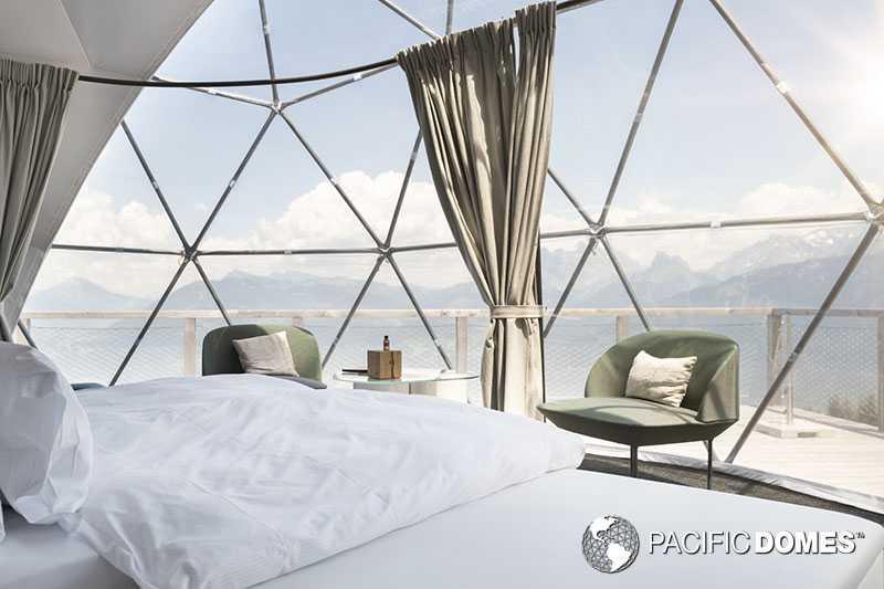 Whitepod Resort Dome