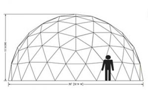 30ft Dome Elevation