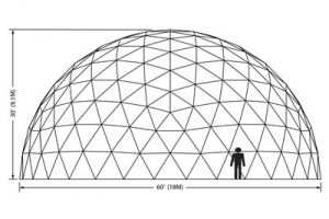 60ft Dome Elevation