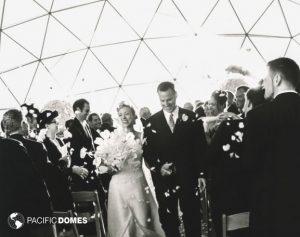 Wedding in a Pacific Dome - Treasure Island, CA