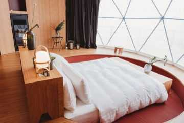 dome home interior-bedroom