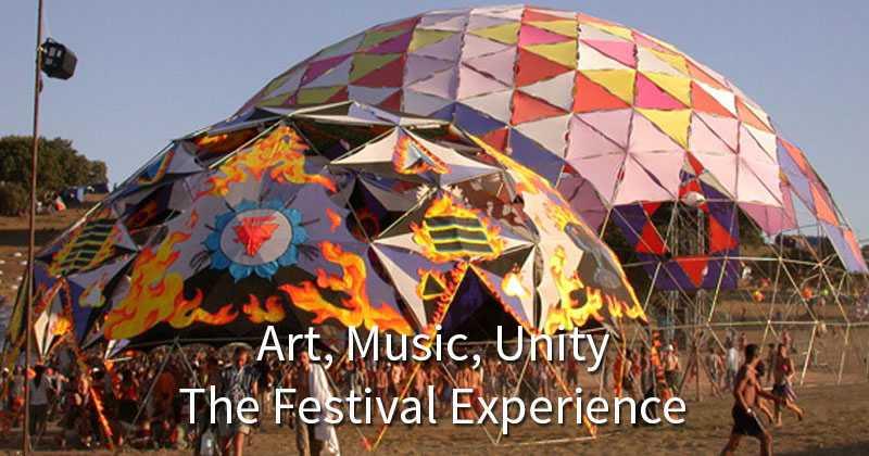 Pacific Domes Festival Domes - Art, Music & Unity